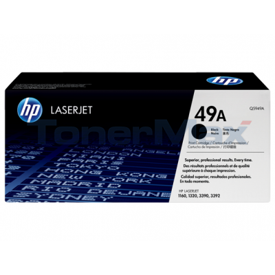 HP LASERJET 1160 1320 PRINT CARTRIDGE BLACK 2.5K